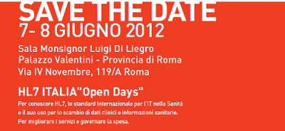 OpenDays 2012 Save The Date